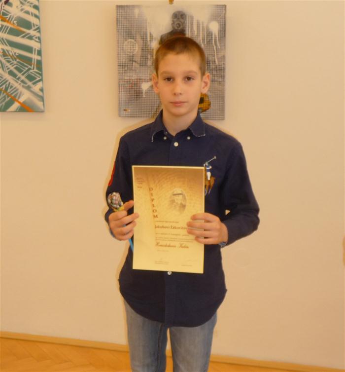 4b3930010 Jakub Žákovič obsadil 2. miesto v I. kategórii - poézia a postupuje do  regionálneho kola, ktoré sa uskutoční dňa 10. apríla 2013. Gratulujeme!